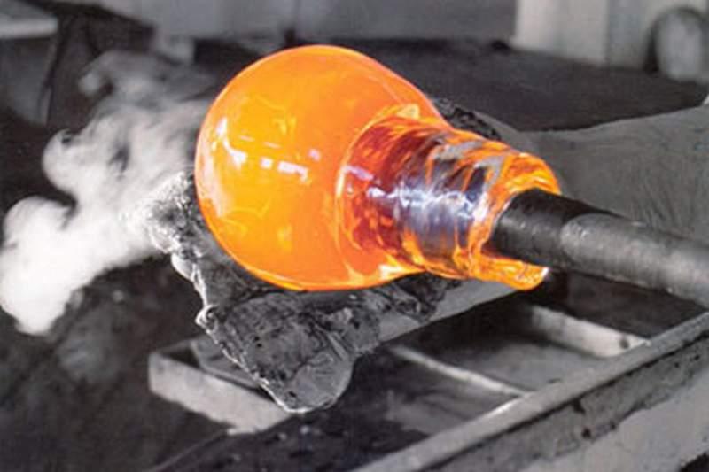 fabricação de vidro